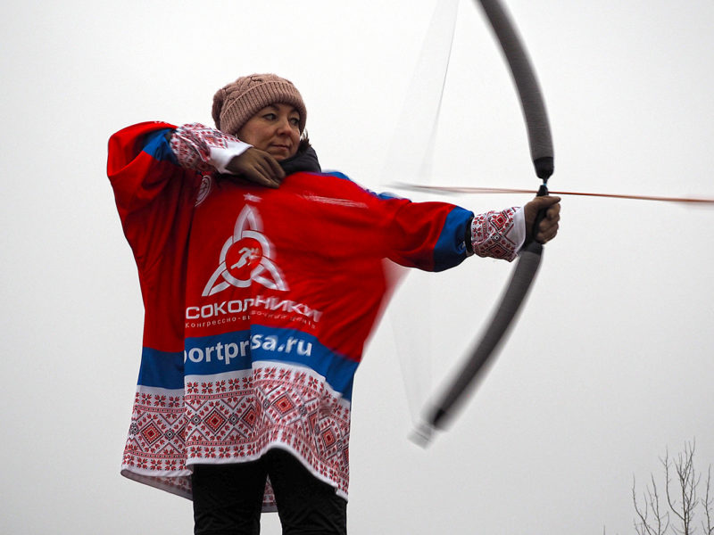 Завершился 4-й этап Кубка Москвы по лукобегу