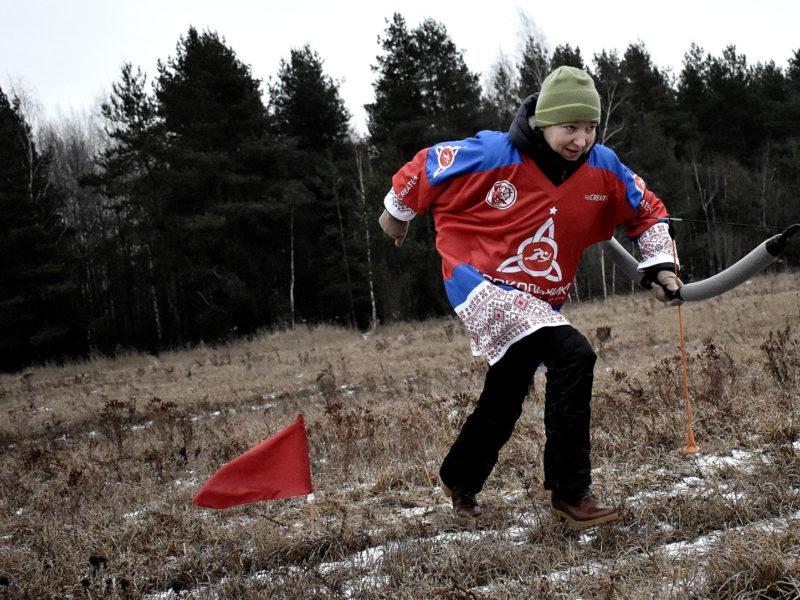 6 этап Кубка Москвы по лукобегу. Финал