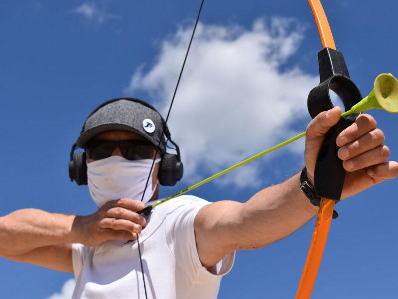 Тренинг «База — стойка и выпуск стрелы»
